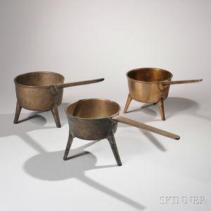 Three Bronze Posnets