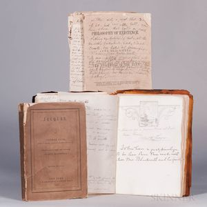 Blackwell, Anna (1816-1900) and Alice Stone Blackwell (1857-1950) Lot of Associated Material.
