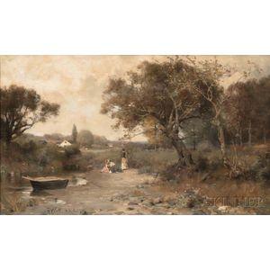 John Henry Witt (American, 1840-1901)      The Picnic