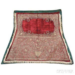 Silk Velvet Saddle Blanket,