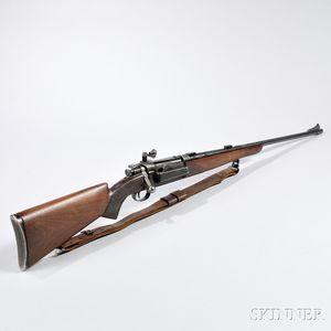 Sporterized Krag Jorgensen Bolt-action Rifle