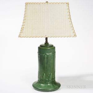 Hampshire Pottery Table Lamp