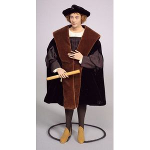 Dorothy Heizer Cloth Doll, Christopher Columbus