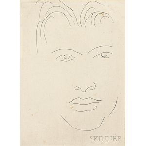 Henri Matisse (French, 1869-1954)      Massia au visage allongé