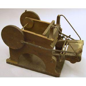Patent Model of a Printing Press