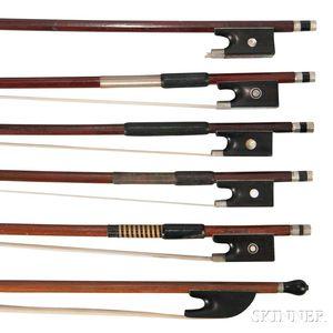 Six Violin Bows