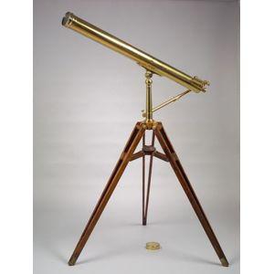 Brass 4-inch Refracting Telescope by Bardou