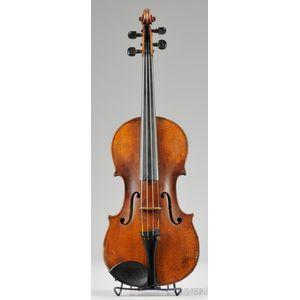 Saxon Violin, c. 1850