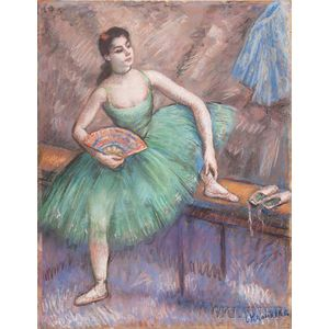 Louis Kronberg (American, 1872-1965)      Mademoiselle Tamara Gross (from Rome)