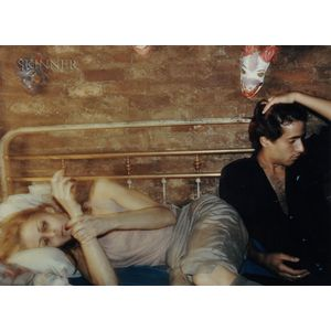 Nan Goldin (American, b. 1953)      Greer and Robert on the Bed, New York