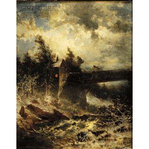 George Herbert McCord  (American, 1848-1909)      Approaching Storm