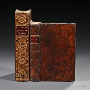 American History, Two Volumes, 1780 and 1809.