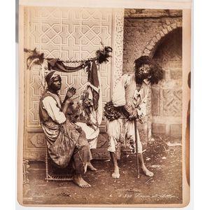 Europe, Palestine, Syria, Africa, Photo Album, 1894-1900.