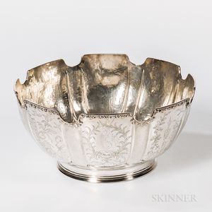 James II Sterling Silver Monteith
