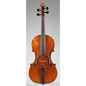 American Violin, Andrew Hyde, Northampton, 1889