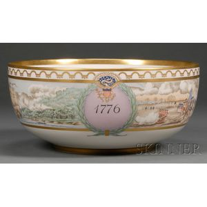 Commemorative Bicentennial Porcelain Punch Bowl