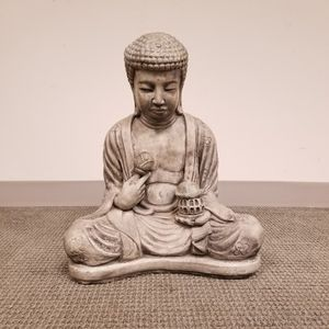 Composite Buddha Garden Statue