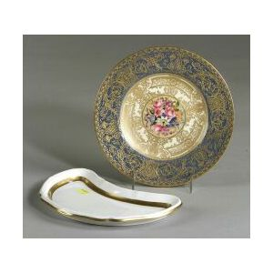 Two Sets of English Plates