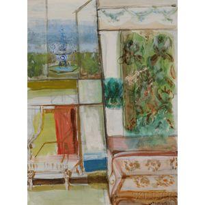 Fannie Hillsmith (American, 1911-2007)      The Villa.