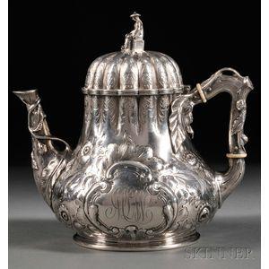 Gorham Coin Silver Teapot