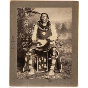 Large Photograph of Sac Fox Eagle Chief