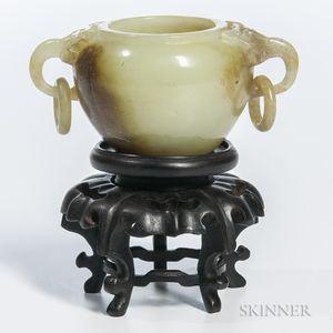 Small Nephrite Jade Water Pot