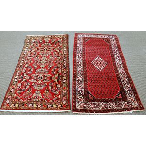 Two Hamadan Rugs