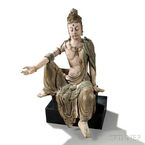 Wood Sculpture of Guanyin