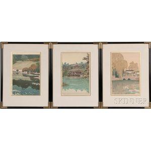 Four Shin Hanga   Prints