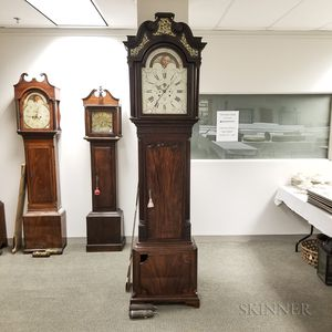 James Butler Mahogany Longcase Clock