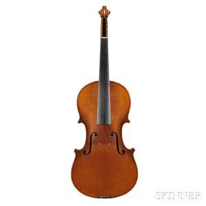 Violin, for The Rudolph Wurlitzer Co., 1905