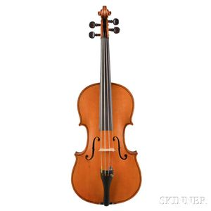 French Three-quarter Size Violin