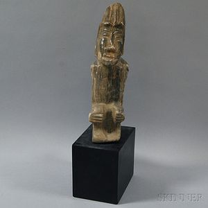 Pre-Columbian-style Stone Carving