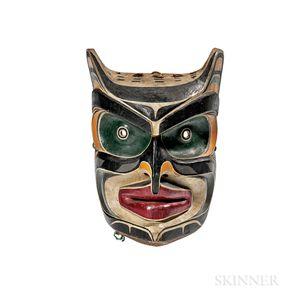 Northwest Coast Polychrome Mask