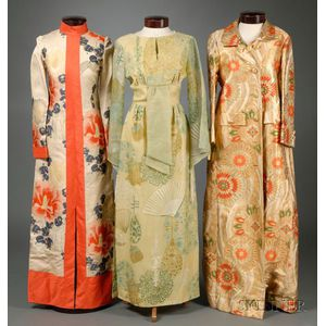 Three Japanese-inspired Vintage 1970s Outfits