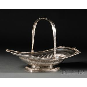 George III Sterling Silver Basket