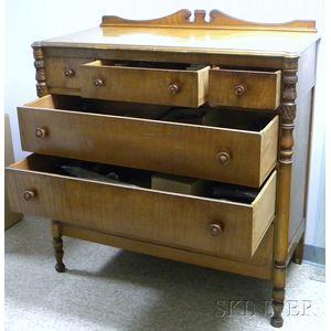 Maple Four-Drawer Dresser