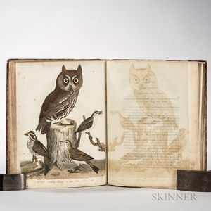 Wilson, Alexander (1766-1813) American Ornithology  , an Incomplete Set.