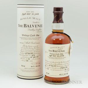 Balvenie Single Barrel 30 Years Old 1966, 1 750ml bottle (ot)