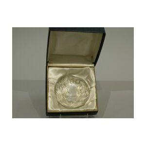 Baccarat Dwight D. Eisenhower Glass Paperweight.