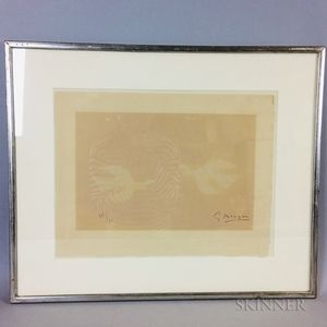 Georges Braque (French, 1882-1963)      Tir à l