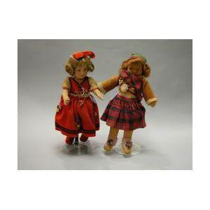 Lenci Girl and Scottish Lass