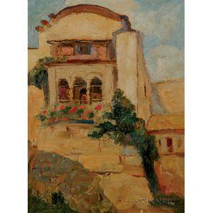 Anthony Thieme (American, 1888-1954)    Enchanting House