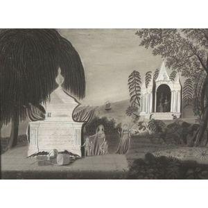 American School, 19th Century,  Memorial to Commodore Oliver Hazard Perry.