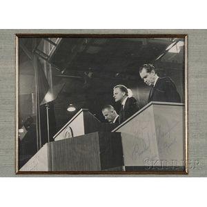 "Nixon, Richard M. (1913-1994), Agnew, Spiro (1918-1996), and   Graham, Reverend ""Billy,"""