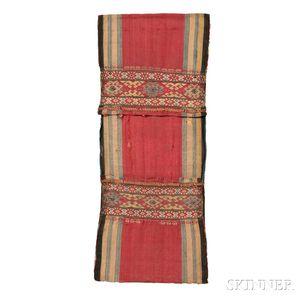 Pair of Mounted Shahsavan Silk Bags