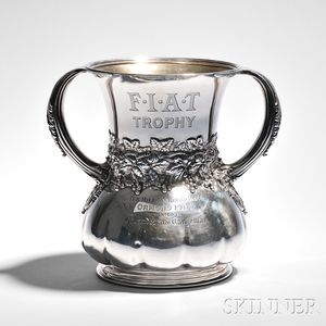 Tiffany & Co. Sterling Silver Racing Trophy