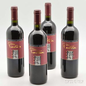 Michele Satta Piastraia 1997, 4 bottles