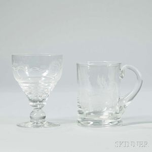 """""""JOIN OR DIE"""" Glassware"""