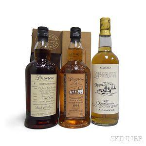 Mixed Longrow, 2 700ml bottles1 750ml bottle